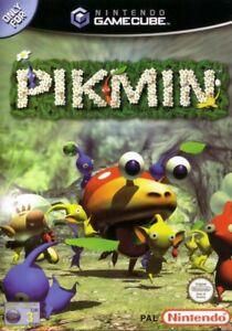 Nintendo-GameCube-Spiel-Pikmin-DE-EN-mit-OVP