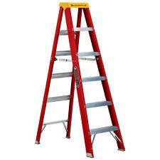 Louisville Ladder 4' Type IA Fiberglass Step Ladder L-3016-04 New
