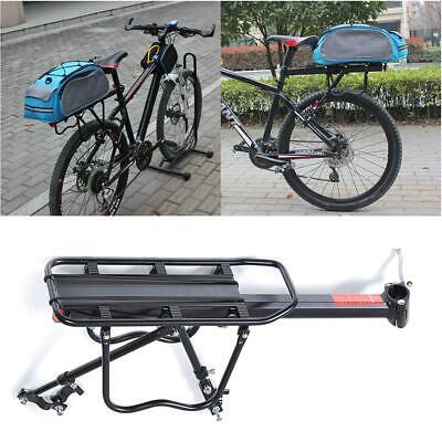 Mountain Bike Bicycle Rear Seat Luggage Shelf Rack Carrier Cycling Accessory USA