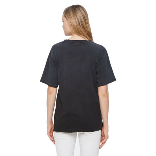 Donna Obey Too shirt Far Black Frail T Dusty Lite Lester 67nUPq