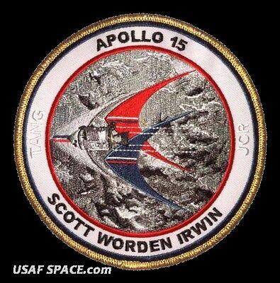 """Apollo 15 Commemorative 5/"""" Mission Patch"""