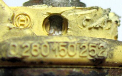 Einspritzdüse Injector Bosch 0280150252 Porsche 928 S gereinigt /& geprüft