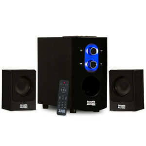 Acoustic-Audio-2-1-Bluetooth-Home-3-Piece-Speaker-System-for-Multimedia-Computer