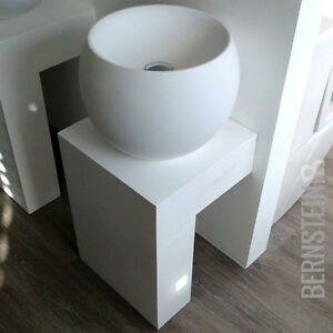 waschtischkonsole wandkonsole twz01 aus mineralguss f r aufsatzwaschbecken. Black Bedroom Furniture Sets. Home Design Ideas