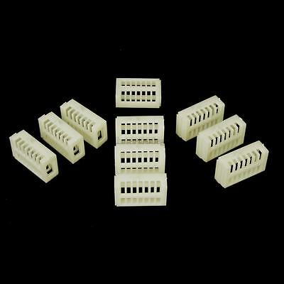 10x Functional Queen Cages Bee Match-box Moving Catcher Cage Beekeeping Tool