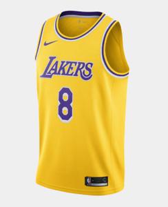 Details about Kobe Bryant Lakers Icon Edition Nike NBA Swingman Jersey #8 Size L -New