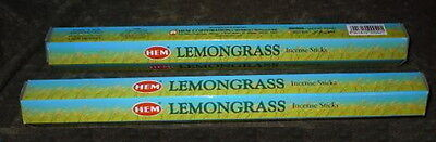 LEMONGRASS Incense HEM 40 Stick Hex Box NEW Power Purify Attract good luck  | eBay