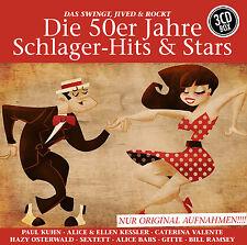 CD Die 50er Jahre Schlager-Hits & Stars von Various Artists  3CDs