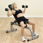 Body-Solid Adjustable Incline Flat Weight Bench GFI21