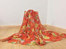 Trabajo al por mayor Lote 12 piezas Flor tomoto Arrivel Viscosa Sarong Chal Envolvente Bufanda