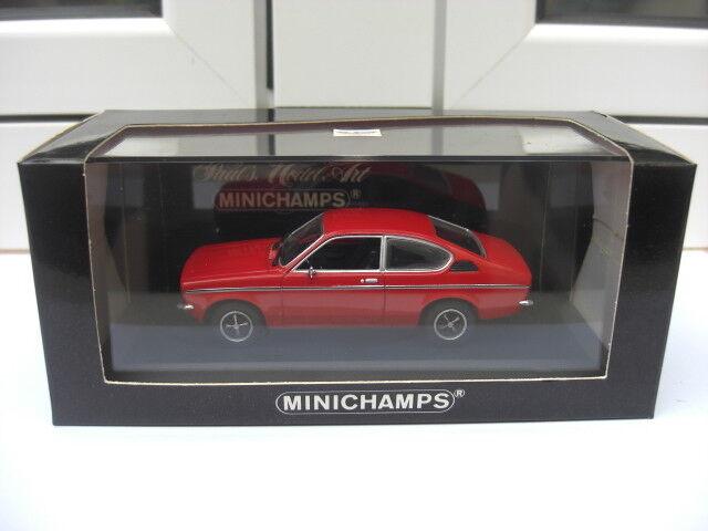Opel Kadett C coupe Minichamps 430045621 MIB 1 43 calibra astra holden vauxhall