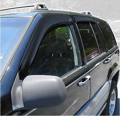 Auto Ventshade 94320 Ventvisor; Deflector 4 pc ZJ 93-98 Grand Cherokee