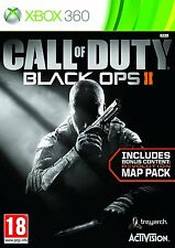 Call of Duty Black Ops 2 II Xbox 360 with Zombies and Bonus Revolution Map Pack