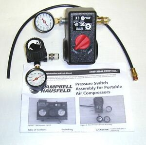 CAMPBELL-HAUSFELD-PRESSURE-SWITCH-CONVERSION-KIT-FOR-SINGLE-STAGE-AIR