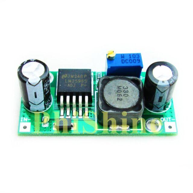 LM2596S-ADJ Adjustable DC-DC Buck Regulator Power Module 3A 5V/12V/24V