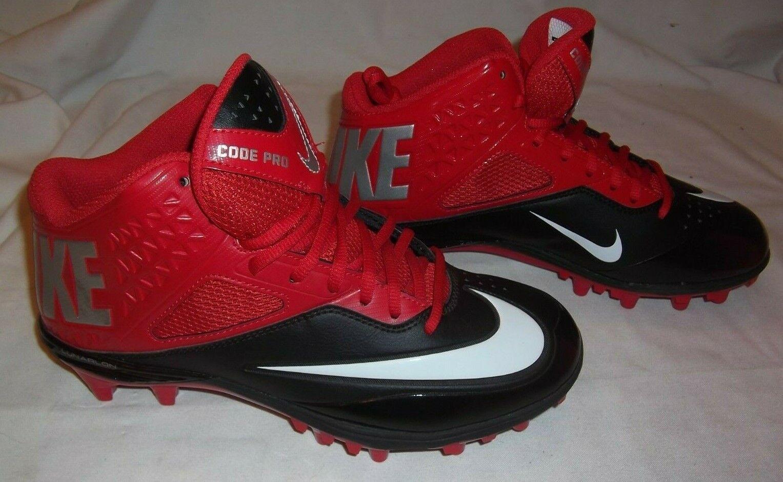 on sale c8a3f 02052 NIKE NIKE NIKE LUNAR CODE PRO 3 4 TD FOOTBALL CLEATS NEW SIZE 8 MENS 290c4a