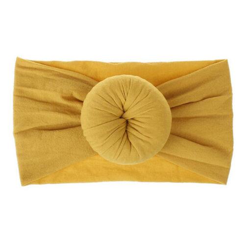 Cute Knot Baby Headband Turban Elastic Girl Headband For Newborn Hair Band