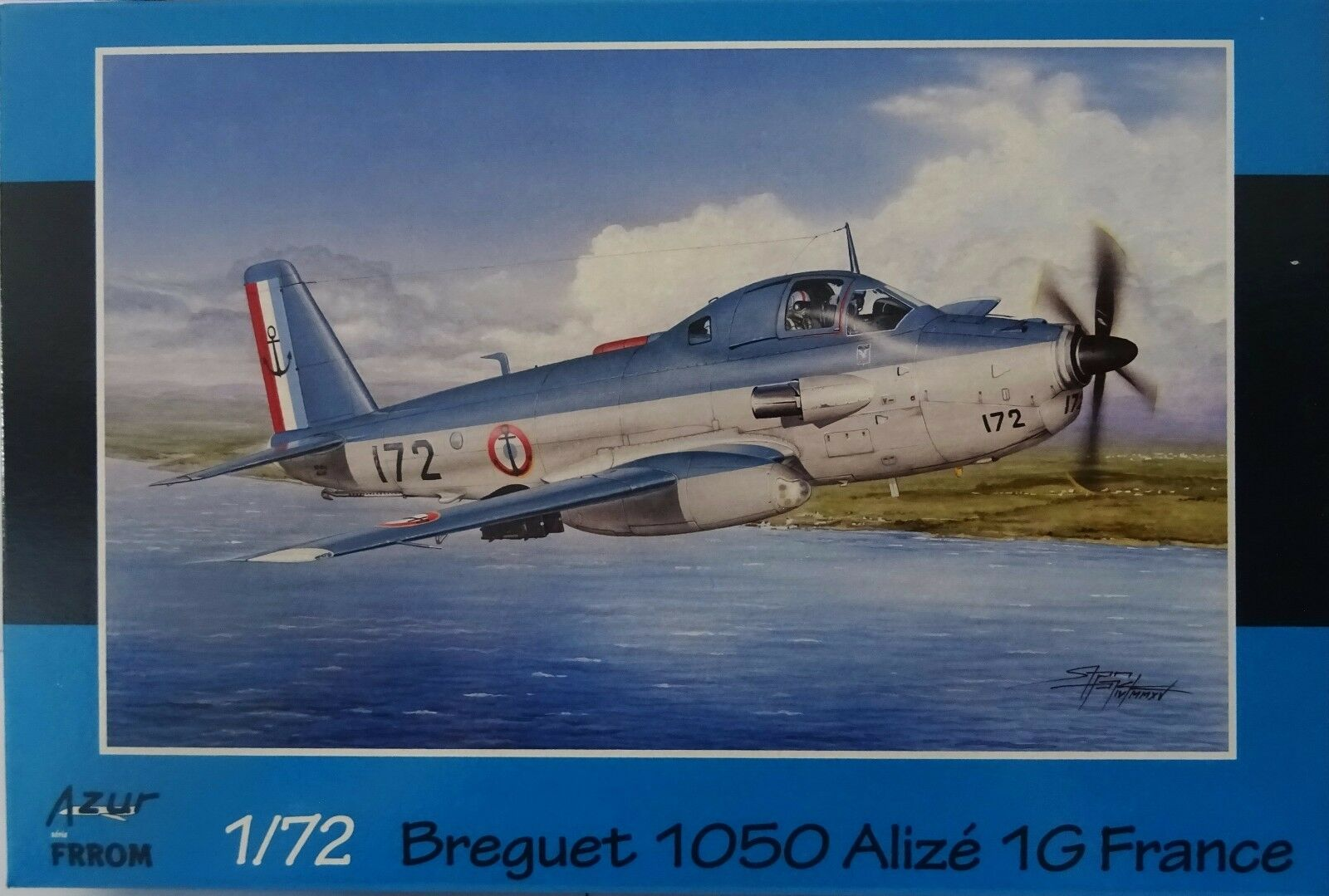 Breguet 1050 Tradewind 1G France, Limited Edition, Azur   Fromm, 1 72, Plastic,