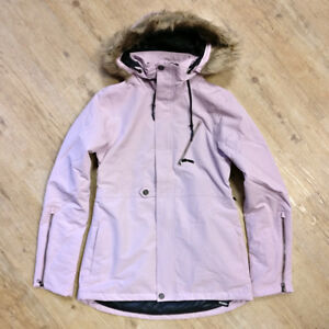 NEW-Women-039-s-Volcom-Fawn-Insulated-Jacket-Rose-2018-2019-Free-P-amp-P