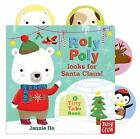 Tiny Tabs: Roly Poly Looks for Santa Claus by Nosy Crow Ltd (Board book, 2016)