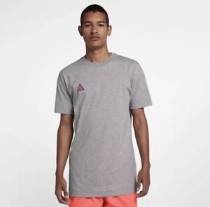 bfe906f775cc5d NEW Sz MED Nike Sportswear ACG Graphic Tee Volcano Grey AO8762-063 ...