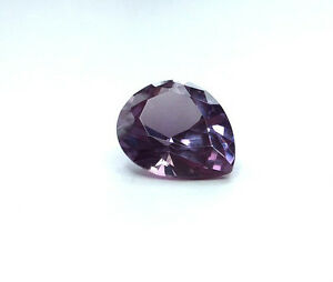 (5x3mm - 20x15mm) Pear Faceted AAA Lab Created Alexandrite Corundum