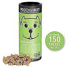 Actief Pooch & Mutt Fresh Breath Mini Bone Treats For Dogs 125g Elegant En Stevig Pakket
