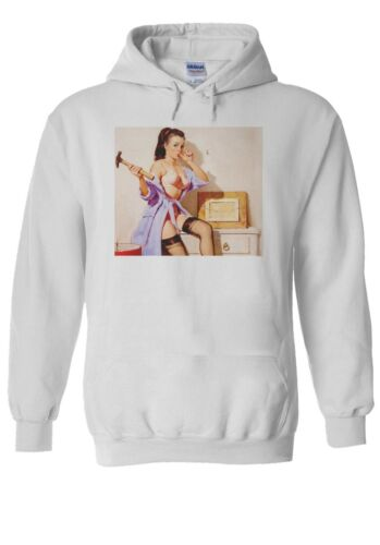 Pin Up Girl Bettie Men Women Unisex T Shirt T-shirt Vest Baseball Hoodie 2143