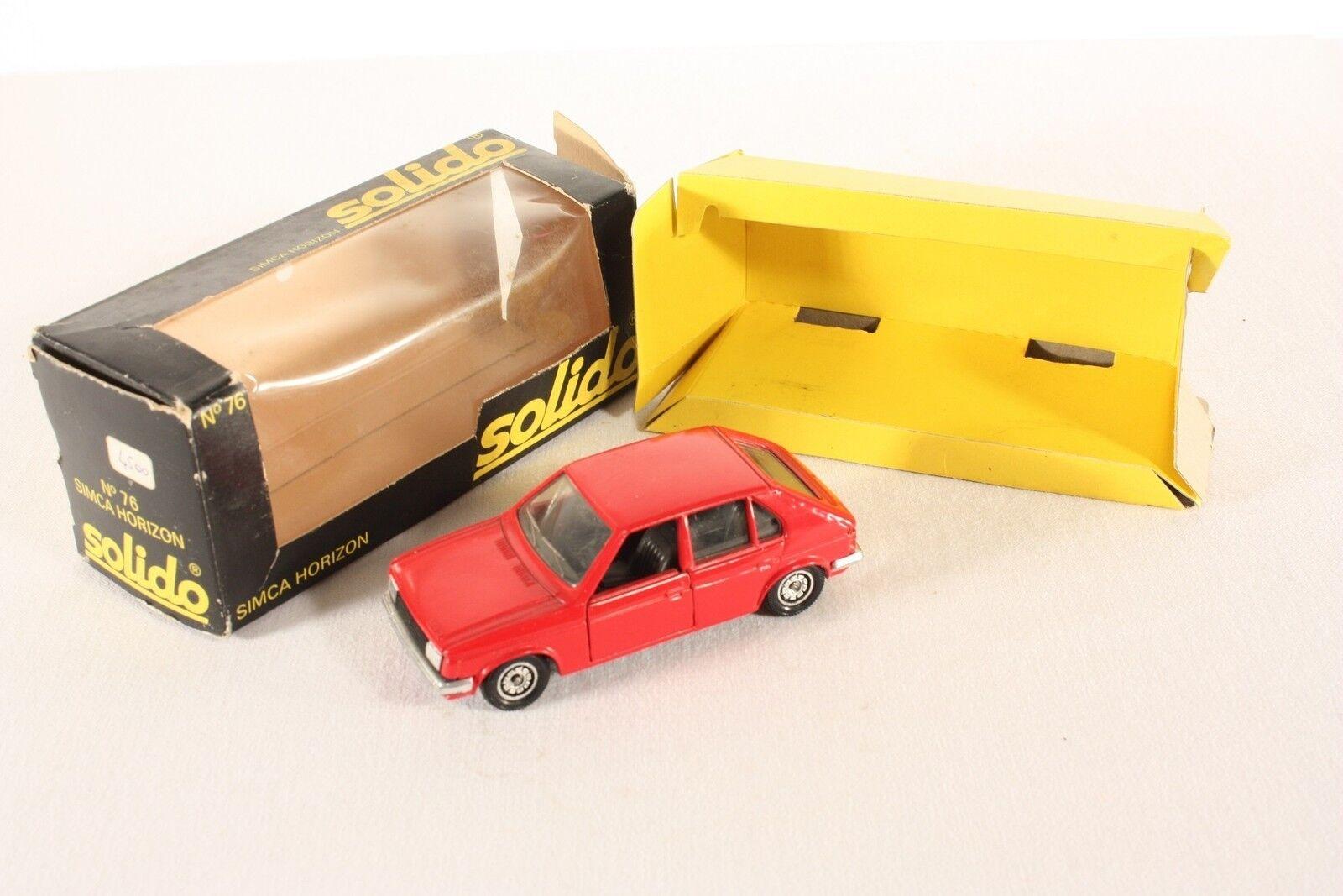 Solido 76, Simca Horizon, Mint in Box                  ab678