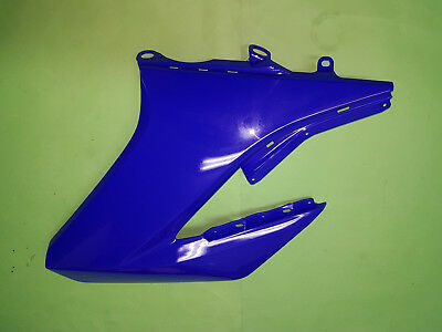 yamaha wr125x wr125r wr tankverkleidung tank verkleidung links blau ebay. Black Bedroom Furniture Sets. Home Design Ideas