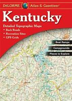 Kentucky Atlas And Gazetteer By Delorme, (paperback), Delorme Publishing , New, on Sale