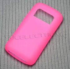 New Light Pink TPU matte Gel skin case cover for Nokia C6-01 C601