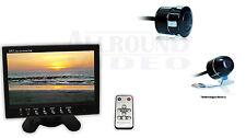 """Auto KFZ Video Rückfahrsystem, Ø16mm Rückfahrkamera + 7"""" TFT LCD Video Monitor"""
