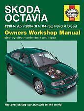 Diesel 98-04 Haynes Owners H4285 Workshop Car Manual Skoda Octavia Petrol