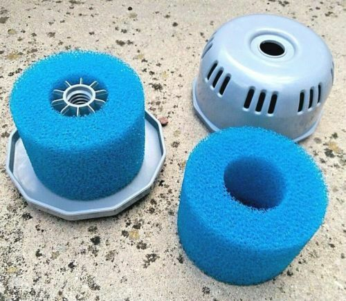 lay in clean spa Hot Tub S1 Washable 'lazy Bio' foam 2 4 x UK VI 'Z type filter'