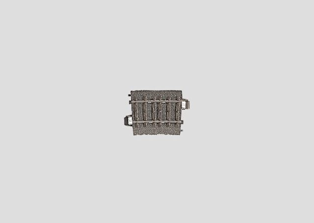 15° Neuware Topp Märklin HO 24215 C Gleis gebogene R2 = 437,5 mm