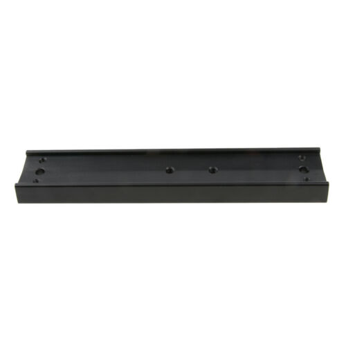 Montageplatte für Teleskope 1 Stück  Metall Prismenschiene 21cm schwarz