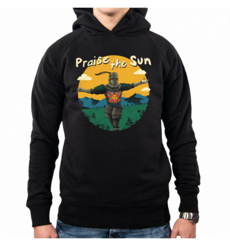 FELPA CON CAPPUCCIO UOMO PRAISE THE SUN DARK SOULS VT0096A PACDESIGN