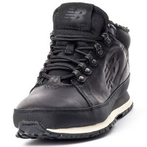 New-Balance-754-Men-039-s-Winter-Boots-Hiking-Shoes-Leather-Black-HL754BN