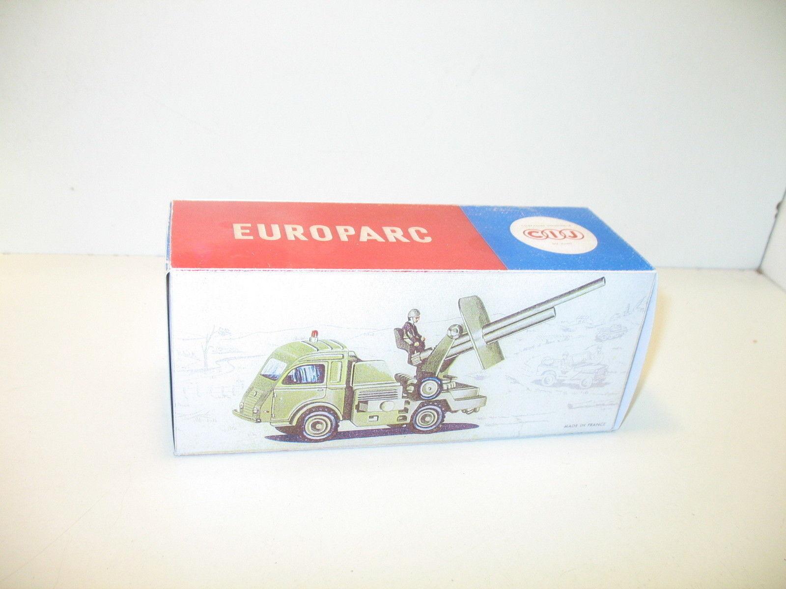 N113, Schachtel repro Lastwagen renault canon Militär, CIJ
