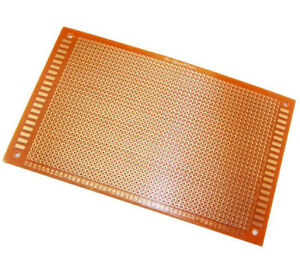 Double Side 4 x 6 CM PCB Strip board Printed Circuit Prototype Track LW