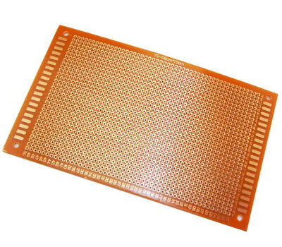 2//5//10 PC One Side 12x18 CM PCB Strip board Printed Circuit Prototype Track LW