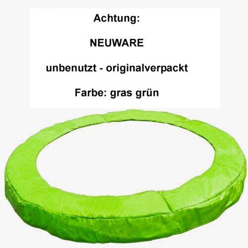 305 cm Federabdeckung grün Randabdeckung Umrandung Randschutz Trampolin