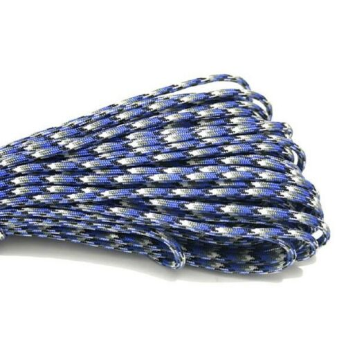 Hot 550 Paracord Parachute Cord Lanyard Mil Spec Type III 7 Strand Core 33-100FT