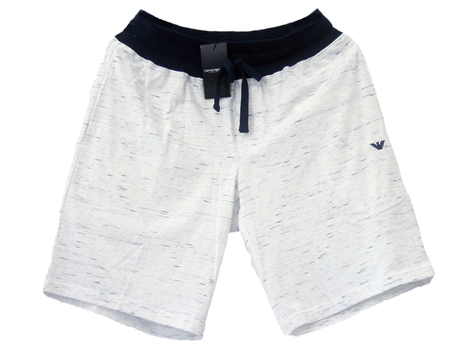 Emporio Armani halblange Freizeit-Hose Pyjama Hose Bermuda Shorts Baumwolle