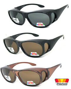 10deee7dd7 Image is loading FIT-OVER-PRESCRIPTION-GLASSES-POLARIZED-SUNGLASSES -COVER-ALL-