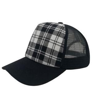 Unisex Classic Retro Cotton Baseball Cap Trucker Mesh Hat Adjustable ... 55c72eaf0e60