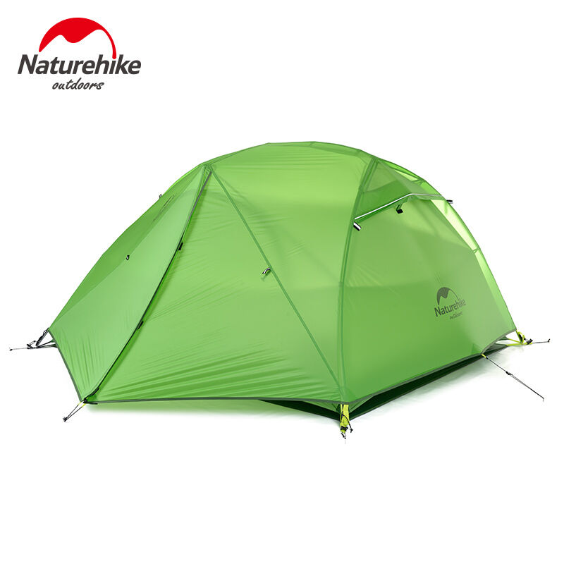 Naturehike  Al aire libre Capas dobles 2 persona tienda para 4 temporada Impermeable a prueba de viento  Entrega gratuita y rápida disponible.