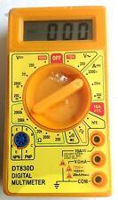 """Digital Multimeter 5"""" x 2.5"""" x 1""""  DT830D Meters"""