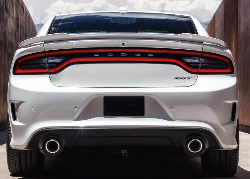 Painted Factory Style Spoiler fits the Challenger 502 PX8